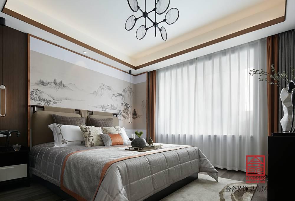 荣盛御府373平米现代风格装修-卧室