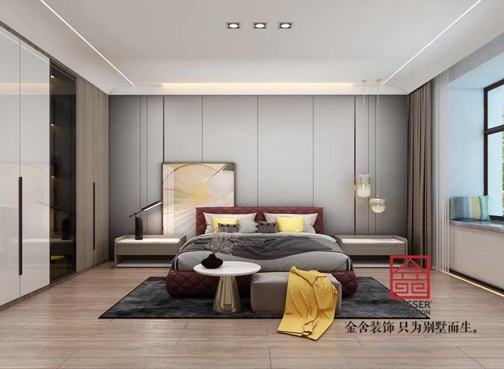 荣盛华府205平米现代简约装修-卧室