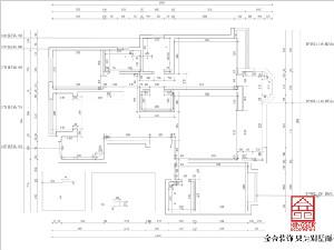 荣盛华府178平米装修户型拆改分析