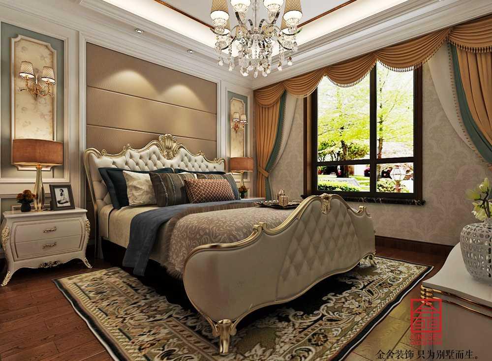 香邑澜山270平米装修-欧式风格-卧室