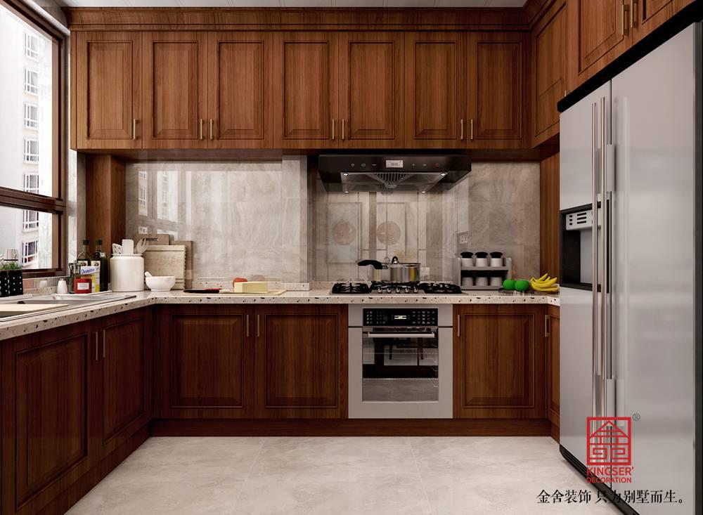 天山国宾壹号139平米中格装修-厨房