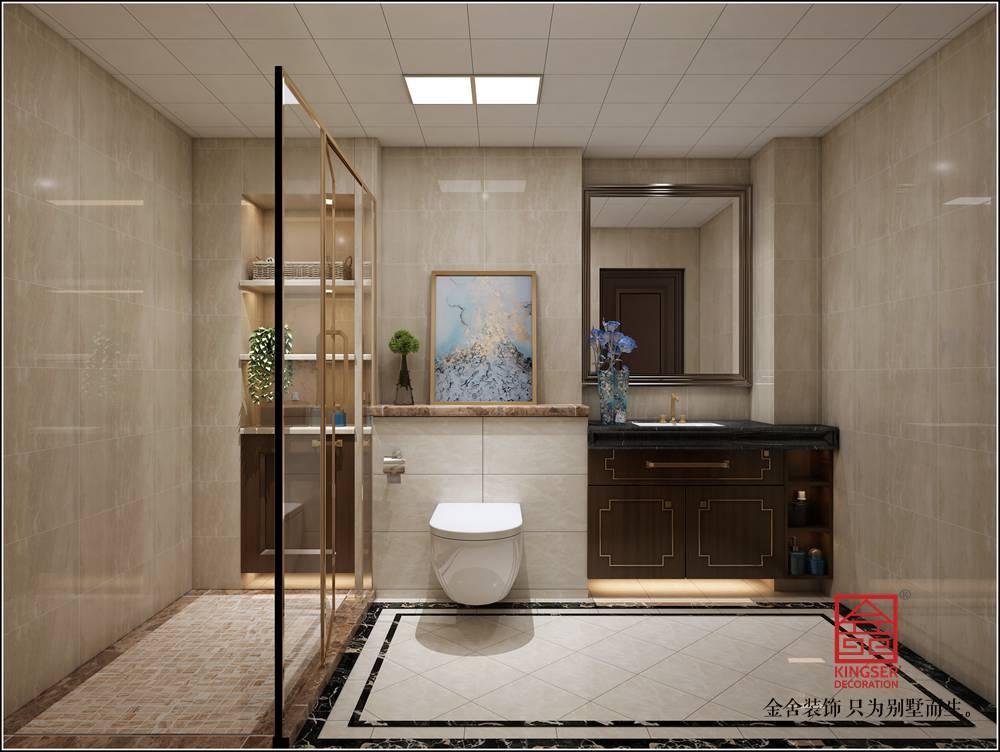 英格兰景城139平米装修-新中式-卫生间
