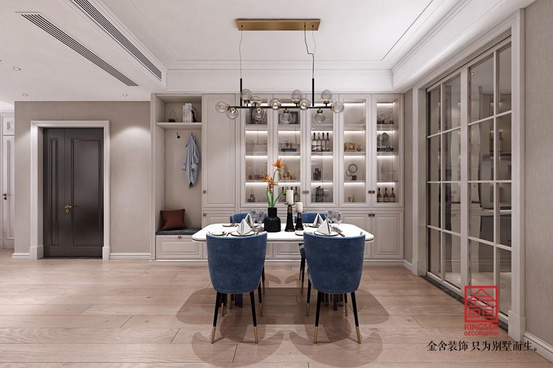 融创中心180平米装修-轻奢风格-餐厅