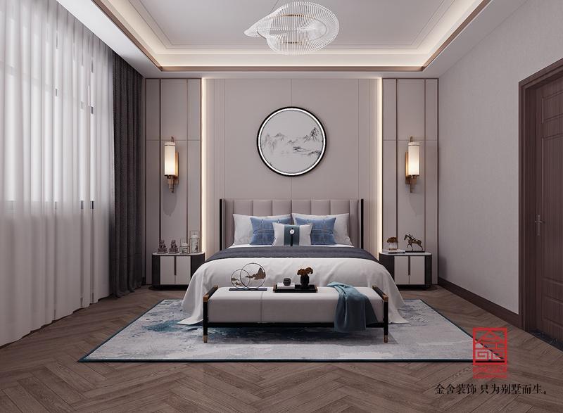 大者350平米新中式风格装修-卧室