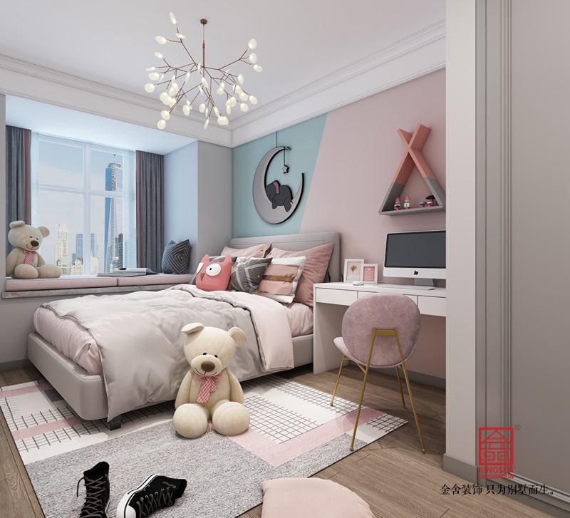东南智汇城150平米装修-现代简约-儿童房