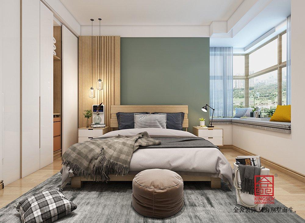 金悦府220平米北欧风格装修-卧室