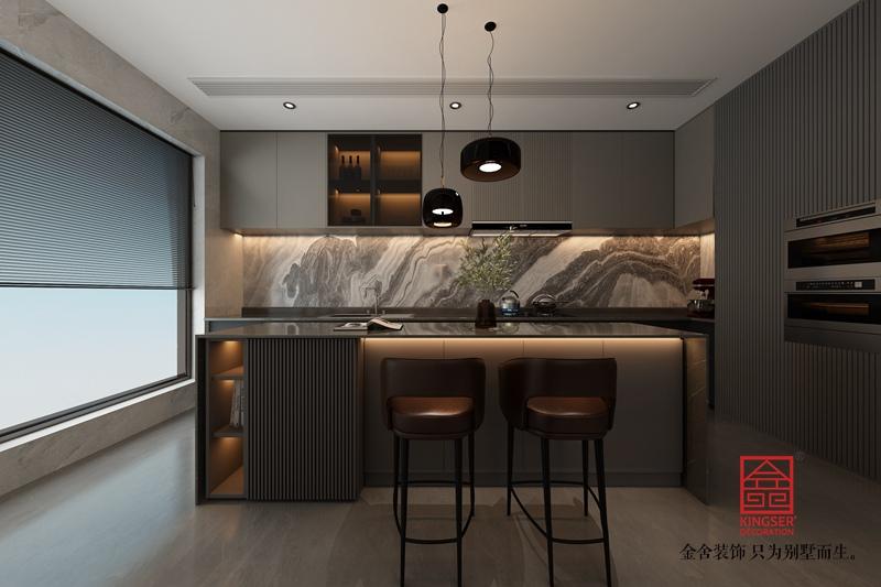 衡水南苑别墅320平米装修-现代简约-厨房