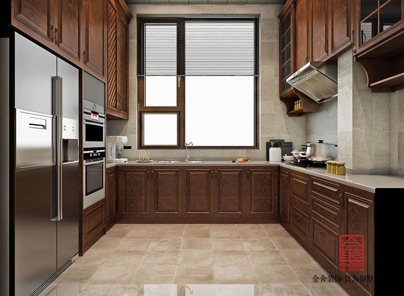 大者别墅290平米装修-中式风格-厨房