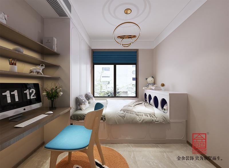 中冶德贤公馆208平米港式风格装修-儿童房