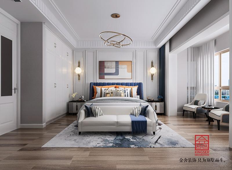 大者别墅200平米装修-现代法式-卧室