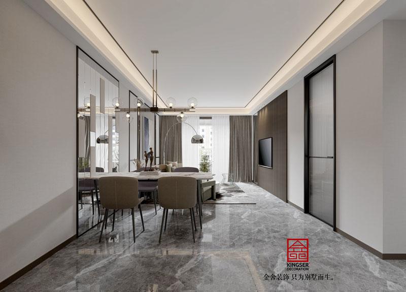 东南智汇城94平现代风格-餐厅