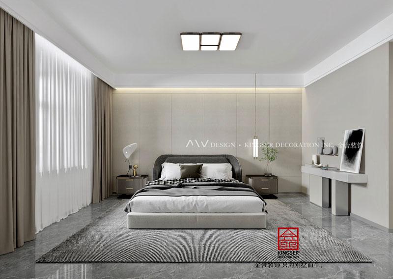 东南智汇城190平-现代简约-卧室