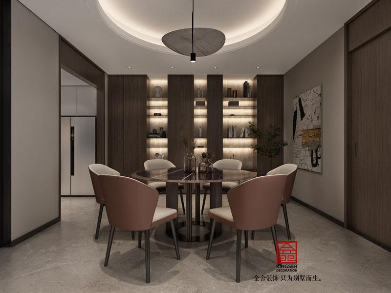 开元府398平米设计效果图-餐厅