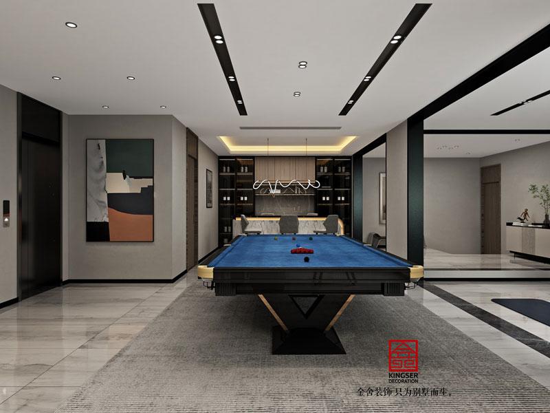 开元府398平米设计效果图-娱乐室