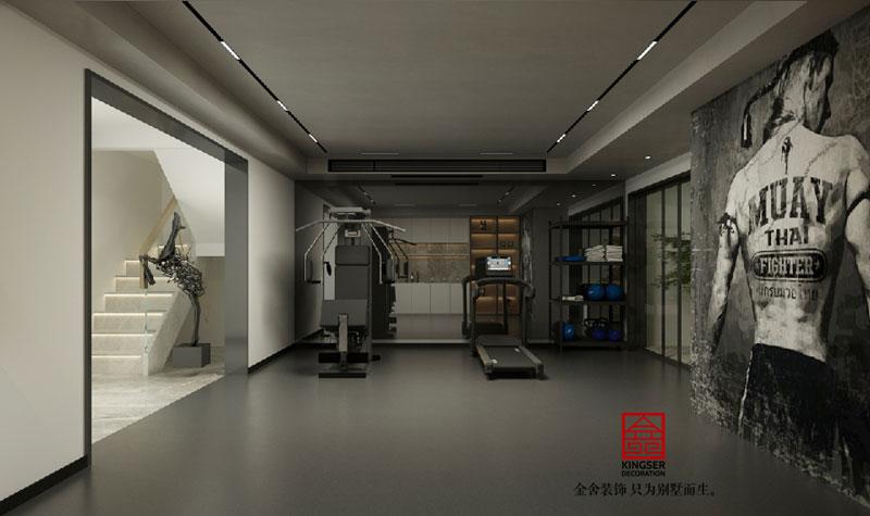中央云著169平米现代风格效果图-休闲室