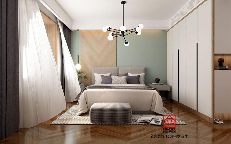 保利拉菲公馆装修设计-卧室