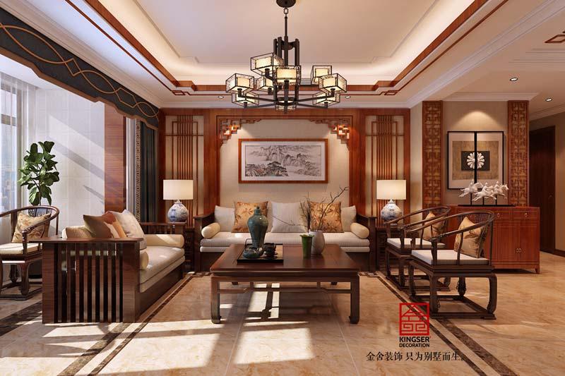 150㎡新中式风格装修设计方法