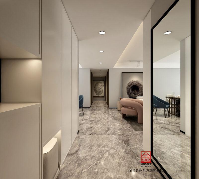 东南智汇城现代简约风格-走廊