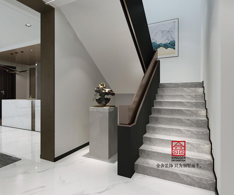 平顶山复式别墅装修效果图-走廊