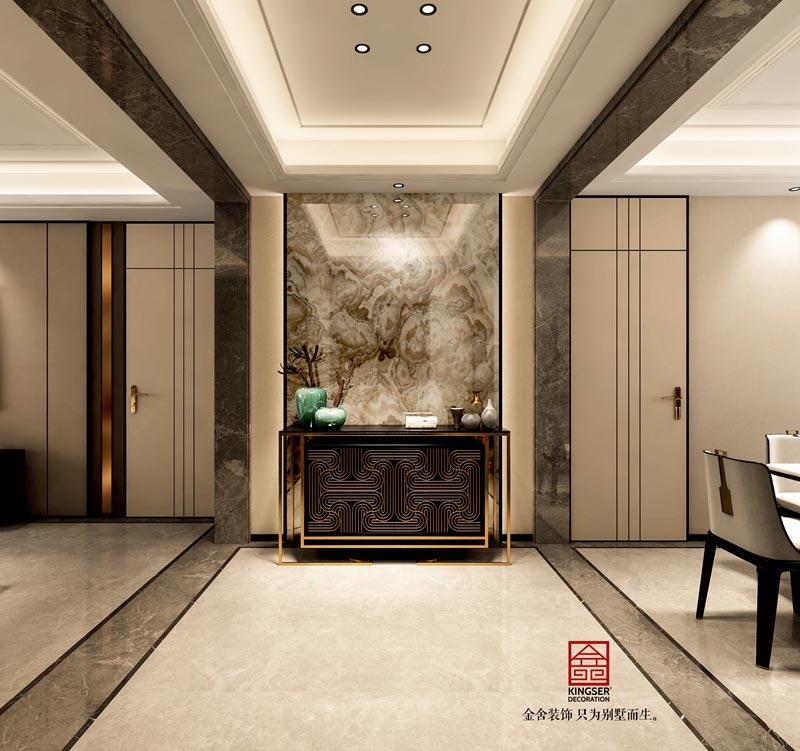 国赫天著中式风格装修设计-玄关