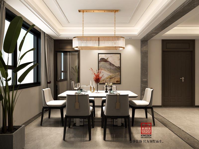国赫天著中式风格装修设计-餐厅