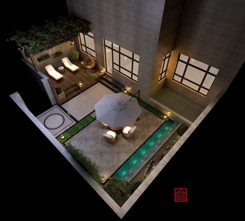万和原著下跃-装修设计-庭院