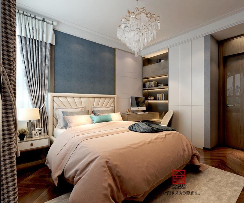 西美五洲260平米装修设计-卧室