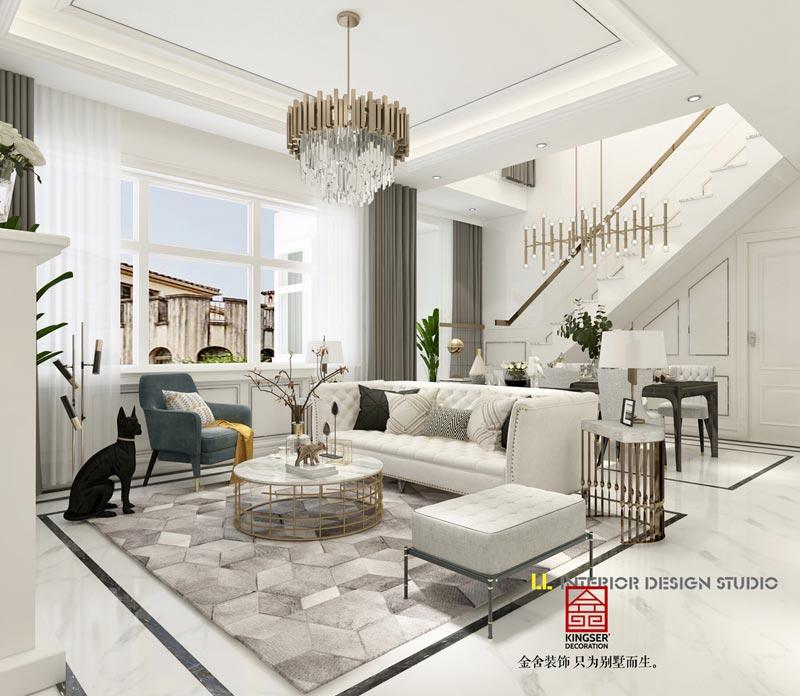 别墅装修现代风格有何特点?现代风格别墅装修设计要素