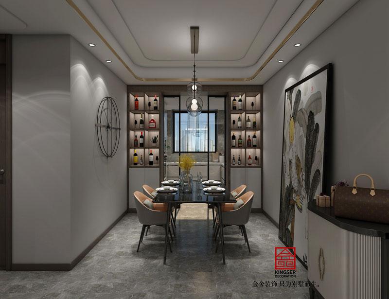 融创中心现代风格装修-餐厅