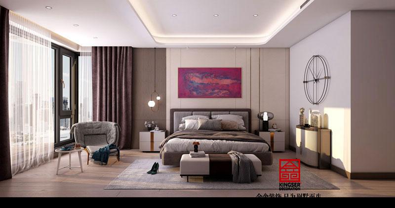 融创中心217平米-卧室效果图