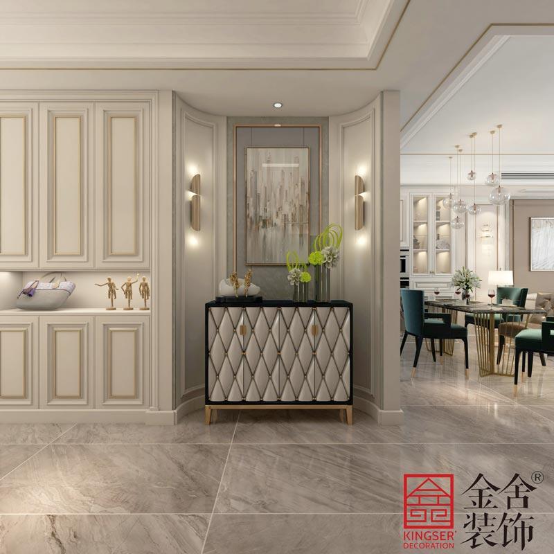中山公馆130平米装修效果图-玄关