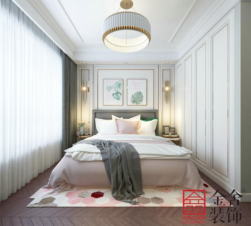 中山公馆130平米装修效果图-卧室