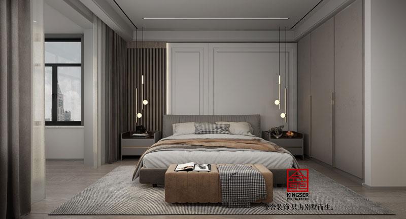 东南智汇城现代轻奢风效果图-卧室
