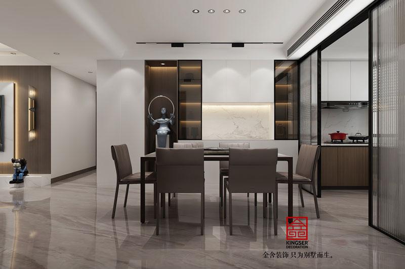 远洋晟庭170平装修效果图-餐厅