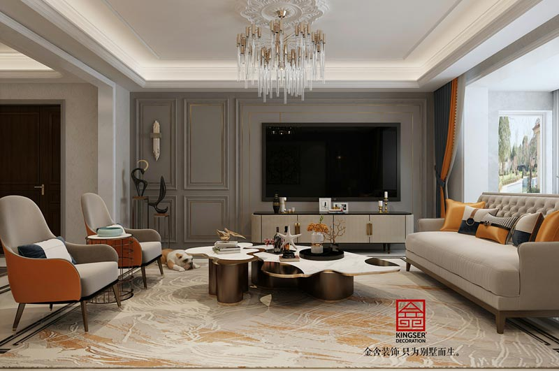 东南智汇城191平米装修-客厅