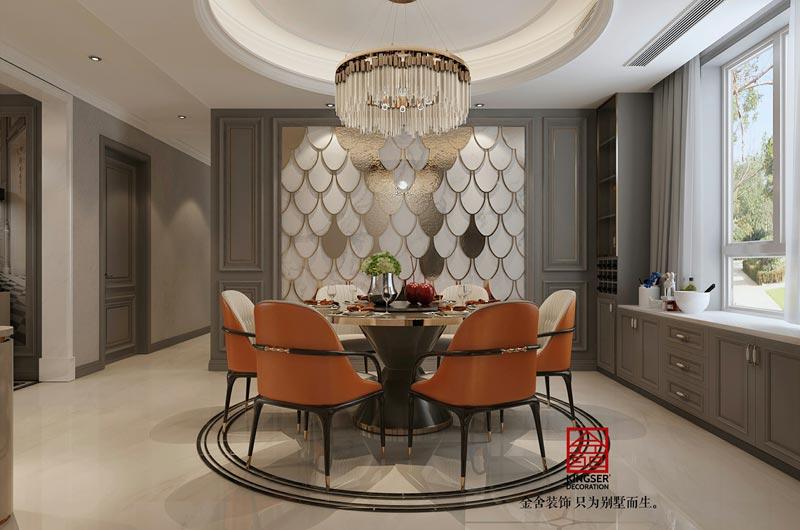 东南智汇城191平米装修-餐厅