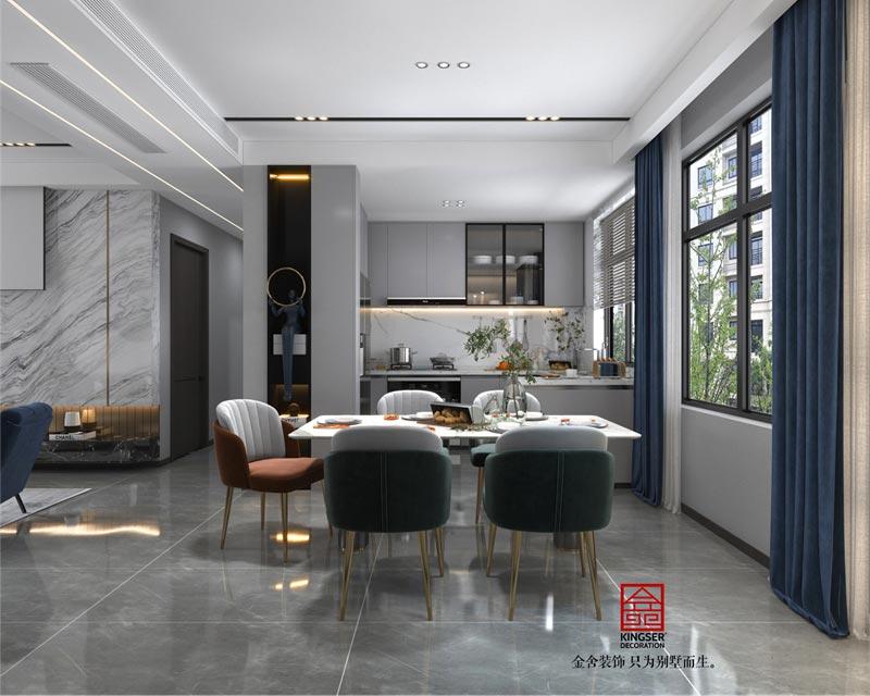 融创中心127平米装修设计-厨房效果图