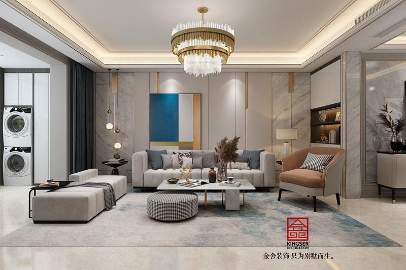 东南智汇城191平米装修效果图-客厅