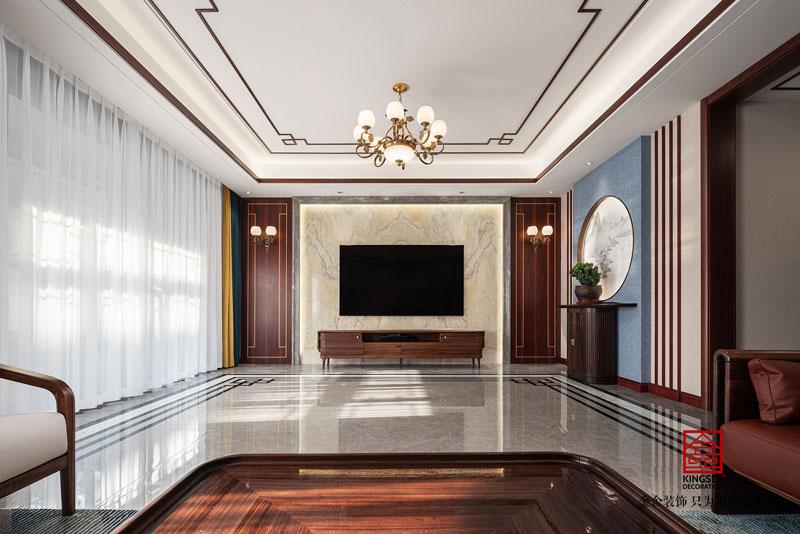 大者别墅300平米新中式风格装修实景