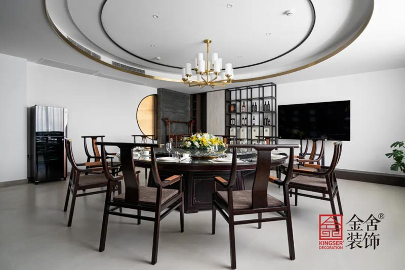 八马茶业新中式风格装修实景图-茶室
