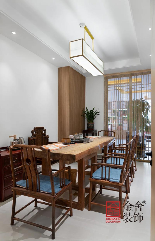 八马茶业新中式风格装修实景图-VIP室